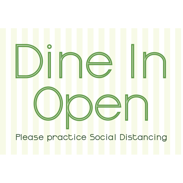 18x12 Dine in Open