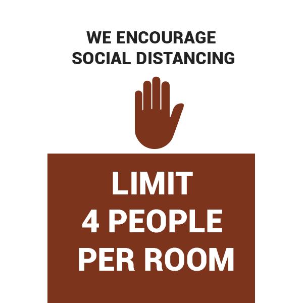 12x18 Limit 4 People
