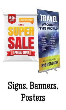Signs, Banner, Posters