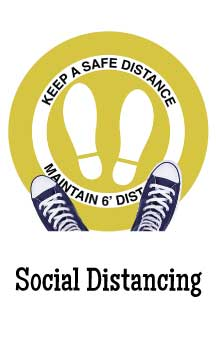 Social Distancing Signs & Banners